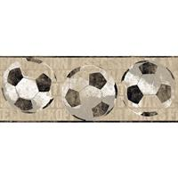 Soccer Ball Border