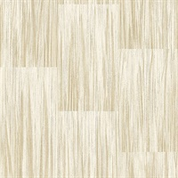 Soren Butter Striated Plank Wallpaper