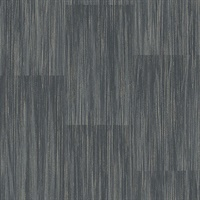 Soren Dark Grey Striated Plank Wallpaper
