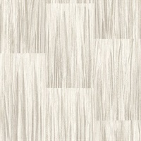Soren Taupe Striated Plank Wallpaper