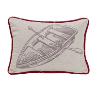 South Haven Rowboat Pillow