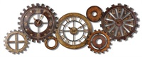 Spare Parts Wall Clock