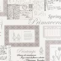 Printemps Script Wallpaper
