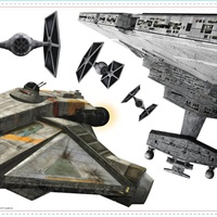 Star Wars Rebel & Imperial Ships