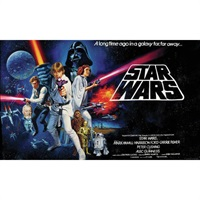 Star Wars TM Classic Pre-Pasted Mural
