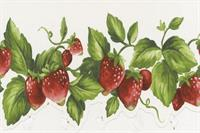 Die Cut Strawberry Wallpaper Border