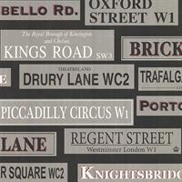 Street Signs Contemporary