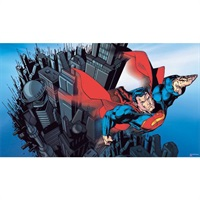 Superman TM Pre-Pasted Mural