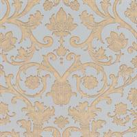 Suzetta Embossed Jacobean Damask