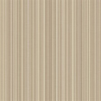 Taupe Stria Stripe Wallpaper