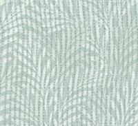 Tea Leaves Stripe Wallpaper