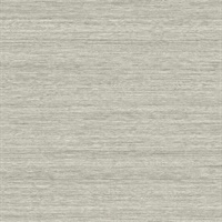 Teathered Grey Shantung Silk