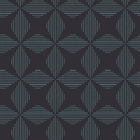 Telestar Navy Geometric Wallpaper