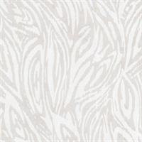 Tempest Silver Abstract Zebra