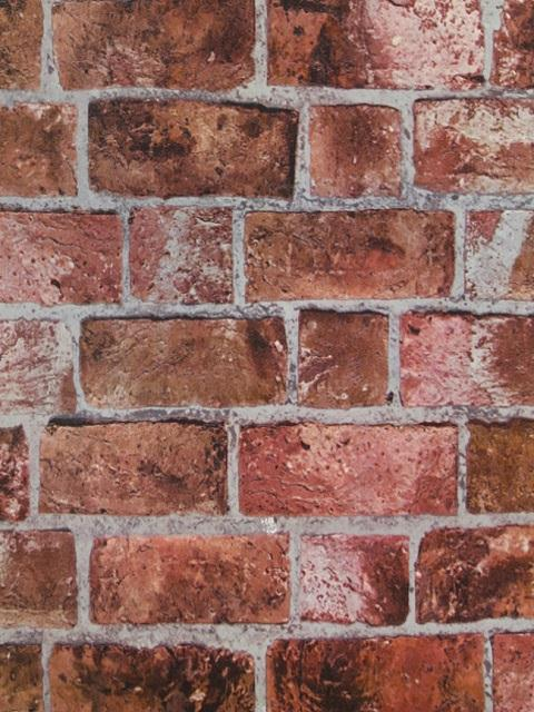 He1044 Textured Brick Wallpaper