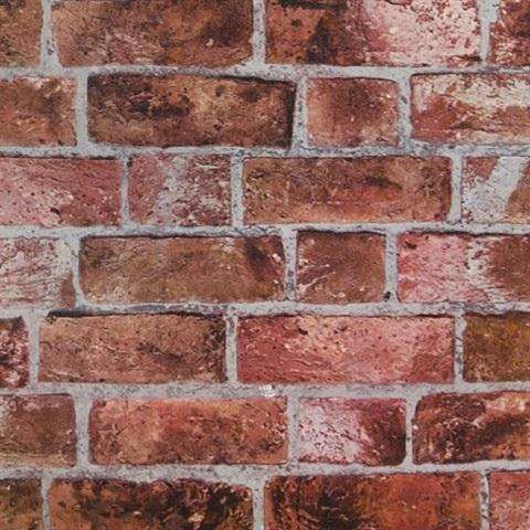 He1044st Red Textured Brick Wallpaper Timeless Classics