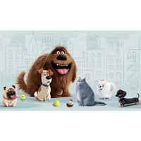 The Secret Life of Pets Pre-Pasted Mural