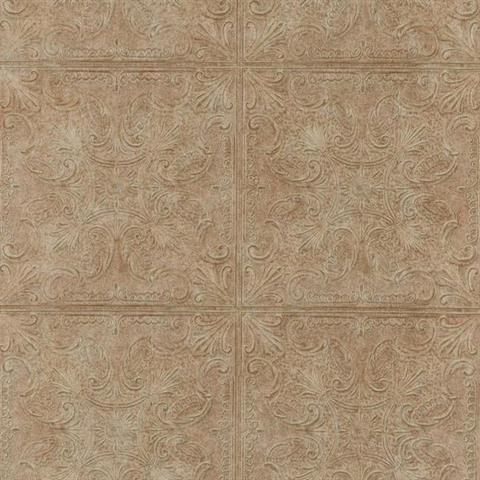 Pa131204 country keepsakes wallpaper book by york - American tin tiles wallpaper ...