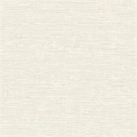 Tiverton Bone Faux Grasscloth Wallpaper