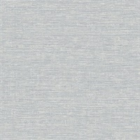 Tiverton Grey Faux Grasscloth Wallpaper