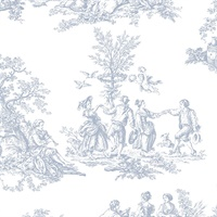 Romantic Toile Wallpaper