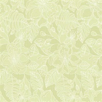 Toulouse Lime Floral