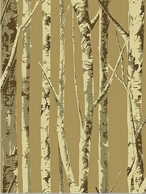 birch tree wallpaper traditional - photo #42