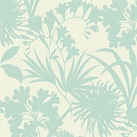 Tropical Floral Silhouettes