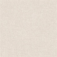 Tweed Cream Faux Fabric Wallpaper