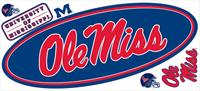 University of Mississippi Giant Peel & Stick Wall Decal