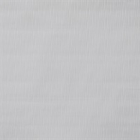 Vertical Ogee Paintable Wallpaper - White