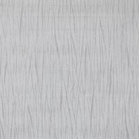 Vertical Twigs Paintable Wallpaper - White