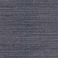 Victoria Indigo Grasscloth Wallpaper