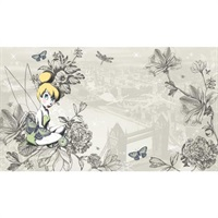 Vintage Tinker Bell Pre-Pasted Mural