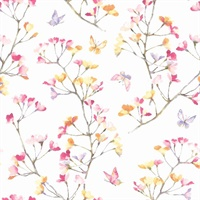 Watercolor BranchWallpaper