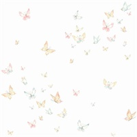 Watercolor ButterfliesWallpaper