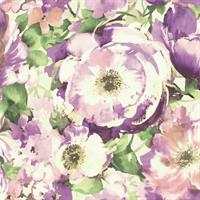 Watercolor Poppy Floral