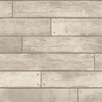 Weathered Grey Nailhead Plank