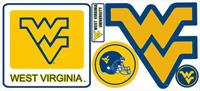 West Virginia University Giant Peel & Stick Wall Decals