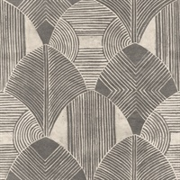 Westport Charcoal Geometric Wallpaper