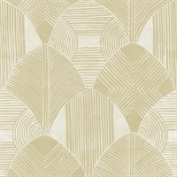 Westport Coffee Geometric Wallpaper