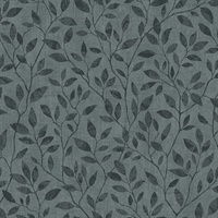Willow Dark Grey Silhouette Trail Wallpaper