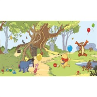 Winnie the Pooh Pre-Pasted Mural