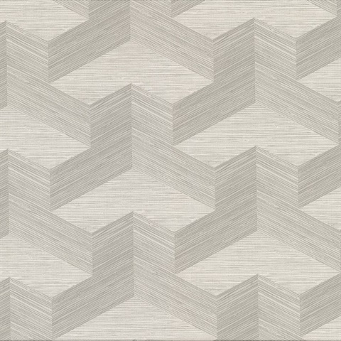 Y Knot Light Grey Geometric Texture