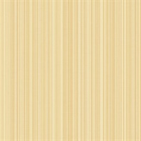Yellow Stria Stripe Wallpaper
