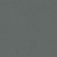 Zack Uni Dark Grey Faux Linen Wallpaper