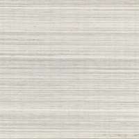 Zoysia Platinum Grasscloth Wallpaper